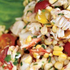 Corn, Tomato, and Lo