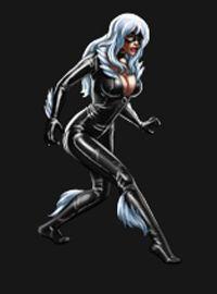 """Black Cat in """"Marvel: Avengers Alliance"""" (Playdom 2012)"""