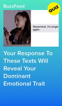 Your Response To These Texts Will Reveal Your Dominant Emotional Trait Crush Quizzes, Life Quizzes, Relationship Quizzes, Quizzes Funny, Random Quizzes, Cool Quizzes, Buzzfeed Quiz Funny, Best Buzzfeed Quizzes, Buzzfeed Quiz Crush