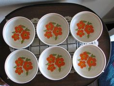 Temper Ware by Lenox Cereal Bowls Set of 6 by YouandVintage, $50.00