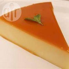 Pudim de leite cremoso com cream cheese @ allrecipes.com.br
