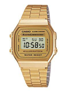 Gold Casio watch - Digital - Retro watch