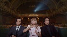 Triángulo amoroso en un anuncio de Prada dirigido por Wes Anderson en http://monkeyzen.com