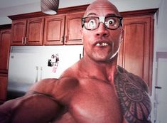 19 Life Lessons We've Learned From The Rock..he's not afraid to laugh at himself!