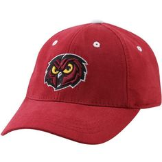 Top of the World Temple Owls Youth Cherry Basic Logo 1-Fit Hat - $17.99