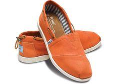 Another pair of Toms that I might consider. Nautical Biminis - Orange Nautical Women's Biminis | TOMS.com
