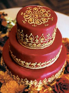 spanish wedding cake with my colors! Indian Cake, Indian Wedding Cakes, Indian Weddings, Royal Weddings, Pretty Cakes, Beautiful Cakes, Amazing Cakes, Cupcakes, Cupcake Cakes