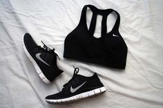 Nike Bra Tank & Trainers