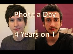 FTM transgender transition timeline: slideshow and comparisons (nearly 3 years on T) - YouTube