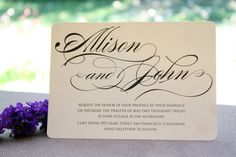 Simple Wedding Invites Picture Request A Custom Order And Have Something Made Just For You
