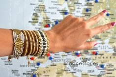 Bracelets from Ibiza... Availables on our online shop: www.muak.ch