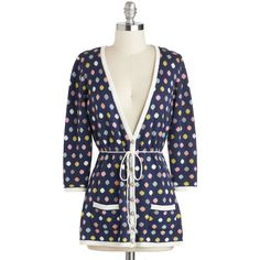 Nick & Mo Coloring Class Cardigan ($65) ❤ liked on Polyvore