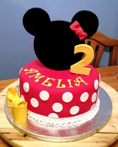 Mini Mouse Birthday cake for Harper