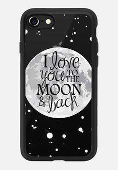 Casetify iPhone 7 Classic Grip Case - To the Moon and Back by The Olive Tree 49b314dd49b