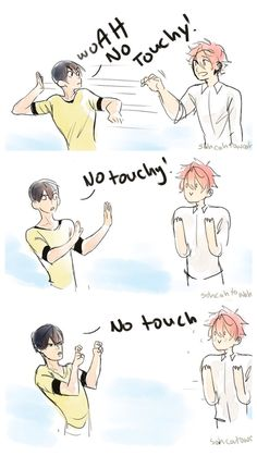 Free! Haru's and Kisumi's relationship
