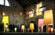 Vibrant Retro-Mod Lights - The Monolite Lamps Genotype by Tomek Rygalik (GALLERY)