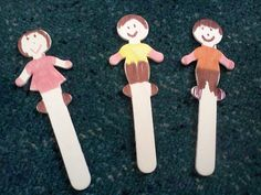 The people sticks were quite popular when the children were making up their prayer stations. Here is another way of using them...        Ho...