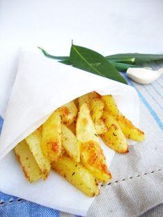 Картофель по-деревенски - кулинарный рецепт