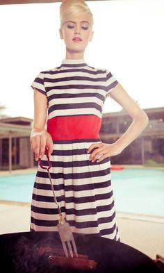 Shabby Apple 'Racquet Club' Dress