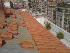 Luis Bassat Teja Mixta Sidewalk, Outdoor Decor, Home Decor, Roof Tiles, Decoration Home, Room Decor, Side Walkway, Walkway, Home Interior Design