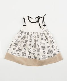 Look at this Lourdes White Voyage Dress - Infant, Toddler