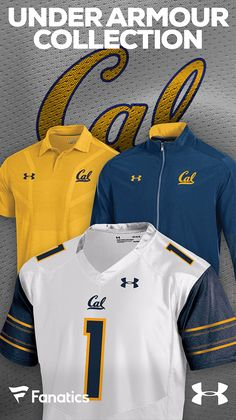 d66bd2410 California Golden Bears Under Armour Gear
