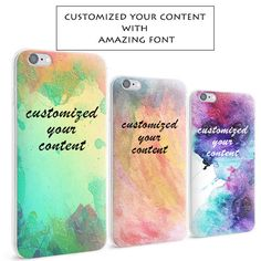 A personal favorite from my Etsy shop https://www.etsy.com/listing/484760744/watercolor-design-custom-phone-case