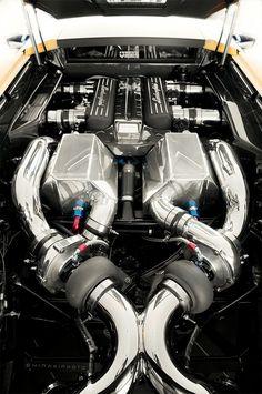 (1300hp Twin Turbo Lamborghini SuperVeloce LP670-4 built by Underground Racing)