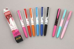 Uni-ball Signo RT1 Limited Edition Hello Kitty Gel Ink Pens - 0.38 mm http://www.jetpens.com/Uni-ball-Signo-RT1-Limited-Edition-Hello-Kitty-Gel-Ink-Pens-0.38-mm/ct/1964