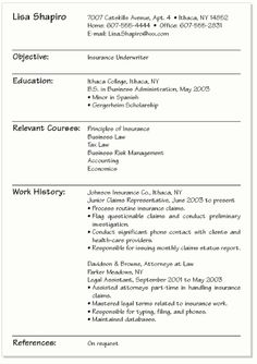 Academic Resume Templates - http://www.resumecareer.info/academic ...