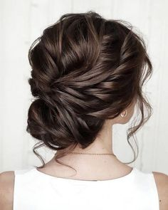 42 Gorgeous Wedding Hairstyles---updo hairstyles,wedding hairstyle inspiration, side braid wedding hairstyle for medium length or short hair frisuren haare hair hair long hair short Wedding Hairstyles For Long Hair, Wedding Hair And Makeup, Bride Hairstyles, Hairstyle Ideas, Trendy Hairstyles, Hair Ideas, Updos Hairstyle, Bridal Party Hairstyles, Bridesmaid Updo Hairstyles