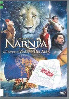 """Carátula da peli """"Las crónicas de Narnia: la travesía del viajero del alba"""". Clica na imaxe para consultar dispoñibilidade"""