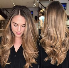 Balayage Highlights New York City - Balayage is a French word meaning 'to sweep' or 'to paint'. It allows for a sun-kissed natural-looking hair colour