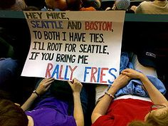 Get me some rally fries.