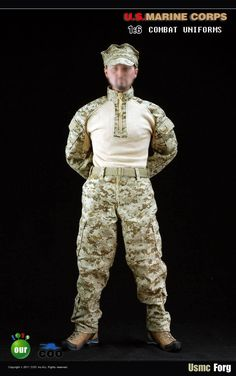 "37.00$  Buy now - http://ali1v5.shopchina.info/go.php?t=32467992894 - ""1/6 scale figure clothes for 12"""" Action figure doll accessories,USMC Uniform for Male figure.Doll and shoes not included"" 37.00$ #shopstyle"