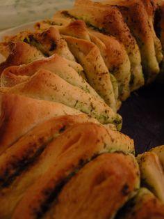 Ninas kleiner Food-Blog: Bärlauch-Faltenbrot