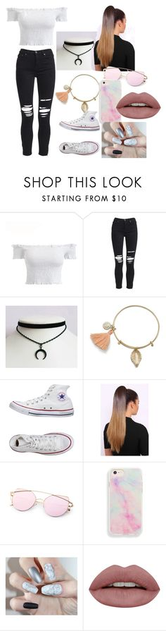 outfit 5 by pacia-regan on Polyvore featuring AMIRI and Converse