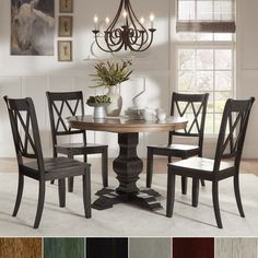 Breakwater Bay East Waterboro 5 Piece Dining Set