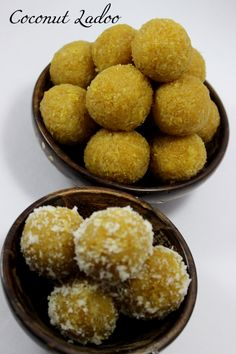 Coconut laddoo recipe For the detailed text and video version of this recipe visit  http://www.foodvedam.com/coconut-laddoo-jaggery/ 