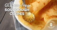Gluten-free Sourdough Crepes