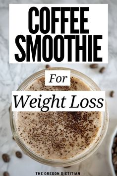 A creamy protein smoothie that uses cold brew coffee, protein powder, and cinnamon. This coffee smoothie recipe is filling, making it great for weight loss. Coffee Protein Smoothie, Coffee Smoothie Recipes, High Protein Smoothies, Protein Smoothie Recipes, Protien Powder Smoothies, Healthy Dessert Smoothies, Fitness Smoothies, Smoothie Diet Plans, Post Workout Smoothie