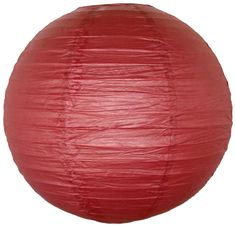 "14"" Burgundy Red Paper Lantern"