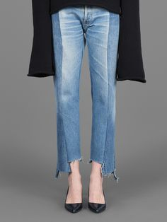 Vetements artisanal cut and sewn jeans #vetements