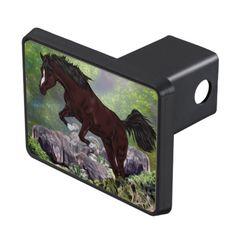 Mahogany Bay Horse Jumping Hitch Cover