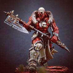 Age of Sigmar | Khorne Bloodbound | Slaughterpriest #hyperboreacrafts #warhammer…