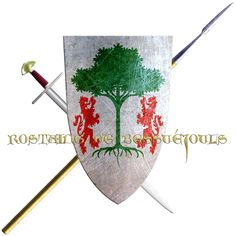 Rostaing de Bessuéjouls. His house is from Rouergue, in 1248 he took the Cross to join the sixth crusade.