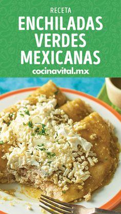 Enchiladas, Fat Foods, Grubs, Food To Make, Dinner, Breakfast, Healthy, Sweet, Food Ideas