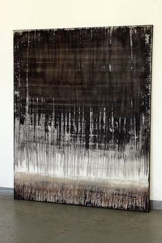 CHRISTIAN HETZEL: textured black brown white