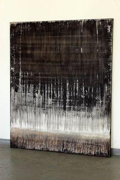CHRISTIAN HETZEL: textured black brown white