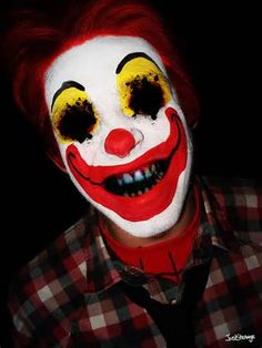 scary neon clown faces - My Yahoo Image Search Results